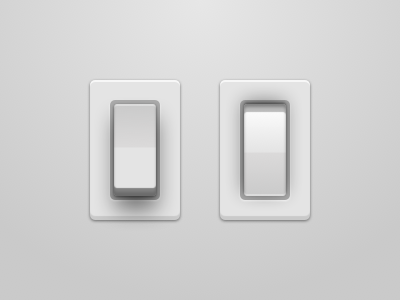 Light Switches Freebie (.sketch) light switch button sketch .sketch app mac freebie freebies white clean simple vector