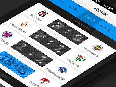 Soccer App soccer football sport app fixture