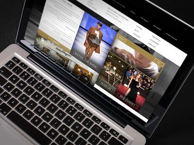 Ferragamo Website web site website ecommerce flat clean fashion