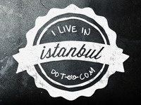 I Live In Istanbul logo first draft