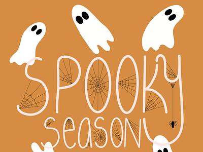 Spooky Season illustrator illustrations graphic design illustration spooky season halloween design spooky halloween