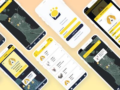 Hi! Meet Puppy dailyui mobile app design mobile design mobile app logo ui