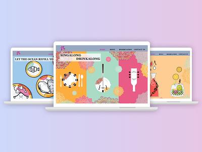 Restaurant Rebranding restaurant branding uidesign website design