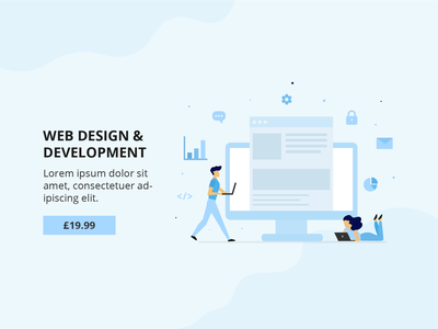 Web Design & Development digital poster illustrator brand awareness brand identity brand socialmedia digitalmarketing branding designs flat design business graphicdesign