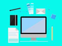 Graphic Design Flat Design