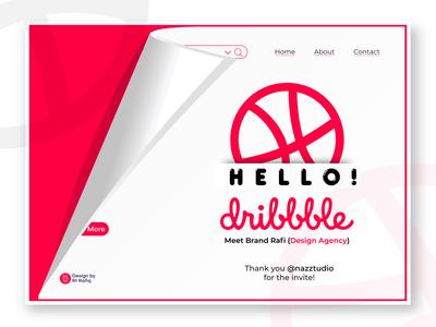 Hello Dribbble! - Logo Design Branding Agency