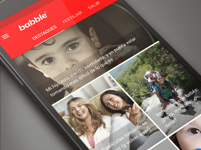 Babble for Android android ui