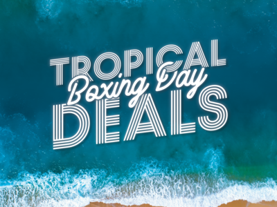 Tropical Boxing Day Sale Campaign