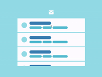 Simple Email Interactions for the Animation Handbook ui  ux ui design animation ui animation