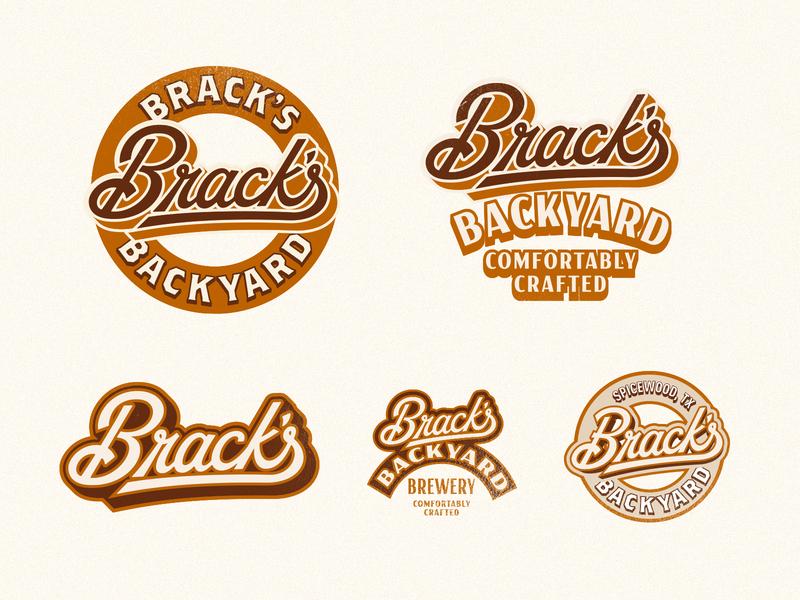 Brewery Logo brewery branding beer designs vintage retro script custom lettering lettering texas craft beer beer brewery branding logo