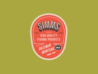 Simms Fishing Products Concept
