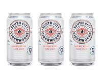 South City Ciderworks Can Design