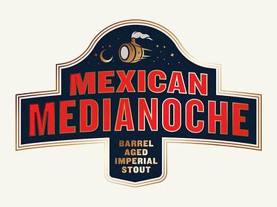 WeldWerks Brewing Label barrel aged stout typography label design brewery beer badge beer label