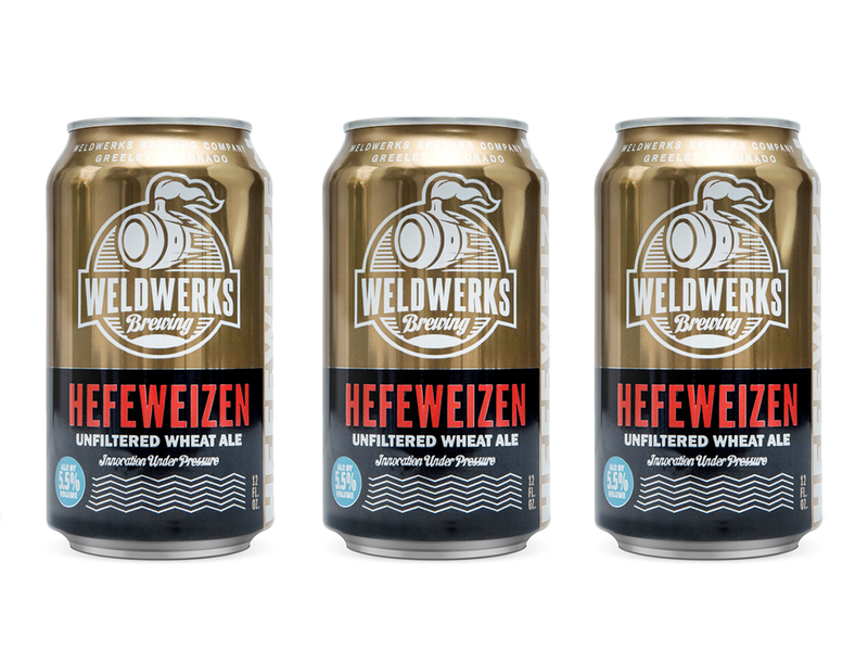 WeldWerks Brewing Can Design colorado beer packaging design packaging beer design beer label craft beer can design