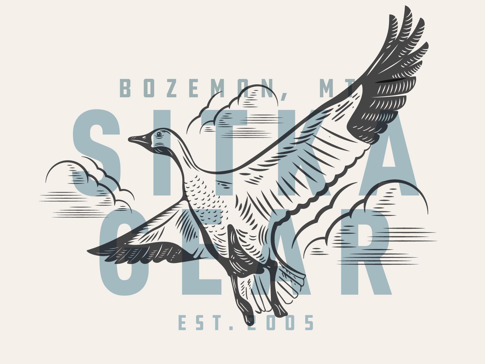 Sitka Gear illustrations hunting apparel woodcut illustration kroneberger sitka gear snow goose