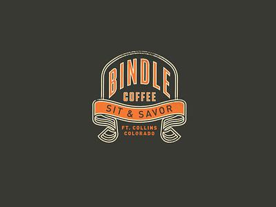 Bindle Coffee custom merch t-shirt apparel craft coffee coffee shop brand typography badge