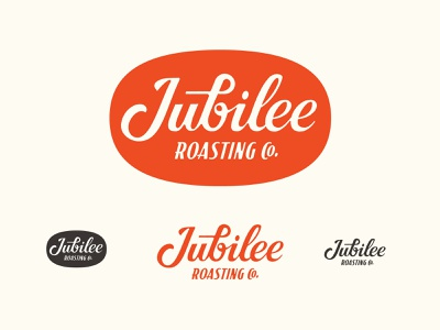 Jubilee Roasting Co. coffeeshop branding badge custom lettering lettering typography logo craft coffee