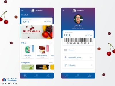 Carrefour - Concept App