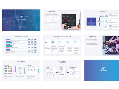 Statsocial Pitch Deck bright design illustration graphicdesign userinterface casestudy investor deck uiux broshure templatedesign presentations presentation pitchdeck