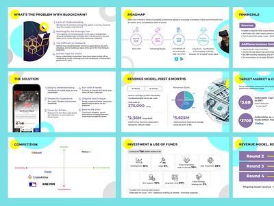 Three43 Pitch Deck branding bright userinterface cool website concepts website design presentation user experience illustration design deck design pitchdeck investor deck