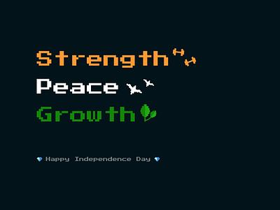 Freedom illustration design first video game pixel art logo branding graphic design