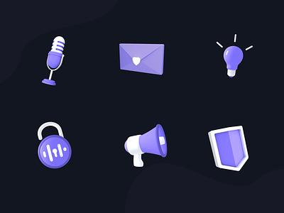 3D icon design design graphic design illustration icon design icon 3d ui