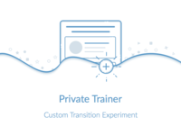 Private Trainter(Illustration) illustration code wave transition