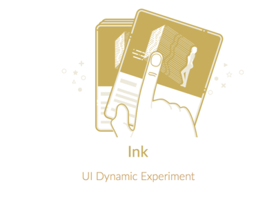 Ink(Illustration) illustration swipe gesture ink dynamic code