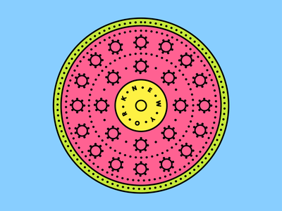 No 6. Guava Manhole Cover system summer pattern new york manhole logo indian illustration icon guava cover brooklyn