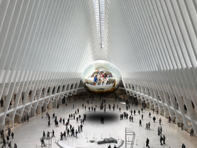 World Trade Center Station Ps Art new hobby ps 3d ny adobe photoshop art