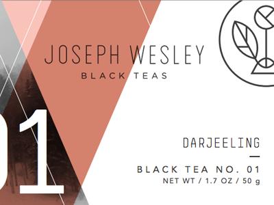 Tea Label logo identity branding packaging tea