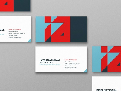 International Advisors logo branding corporate brand identity