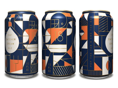 Cat Catcher - Design Brawl designbrawl competition illustration can beer