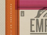 Emporium Pies : Biz Card