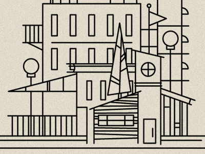 Don't Get Lost in the City illustration maybeatattoo