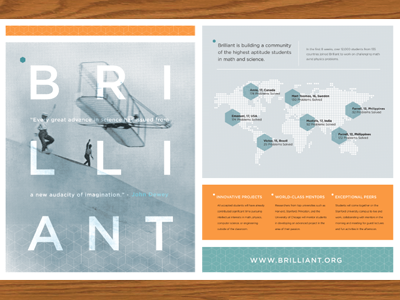 Brilliant Layout branding collateral layout spread magazine brochure