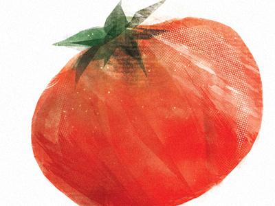 T'mater illustration food packaging branding