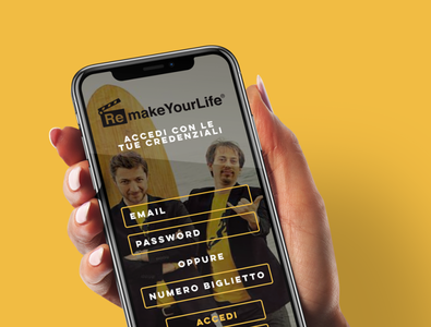 Remake Your Life App mockup