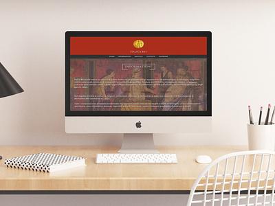 Italica Res Website Mockup website design webdesign mockup web design web website branding design