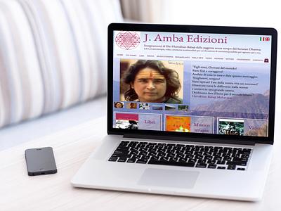 JAmba website mockup 3 website design web design web branding layout website design
