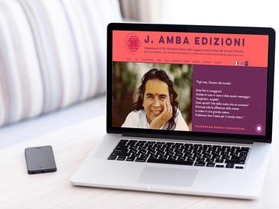 JAmba website mockup 2 website design web design web layout website branding design minimal