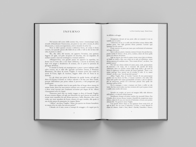 La divina commedia per ragazzi mockup book layoutdesign layout design mockup typography layout minimal design