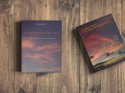 La risposta soffia nel vento ebook cover mockup books book cover book typography mockup layout design