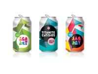 168 ART Festival soda can