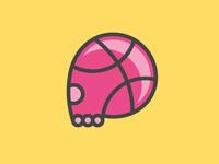 Dribbblers' skull
