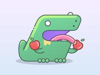 Fruitarian T-Rex