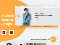 Fancy Online Shop trending brand shopping responsive design shop fashion ecommerce clothes