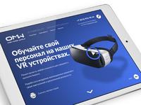 OneMoreWorld VR Landing