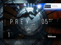 Daily UI #17. Prey Game Preorder page.