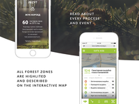Our Forest Mobile Adaptive UI Vol. 2